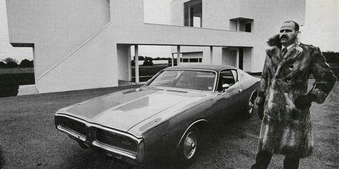 Automotive design, Vehicle, Land vehicle, Automotive exterior, Hood, Photograph, Monochrome, Car, Classic car, Style,