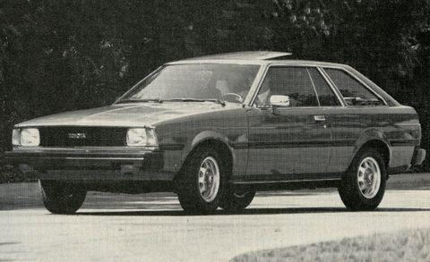 1981 toyota corolla sr 5