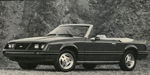 1983 Ford Mustang Convertible –
