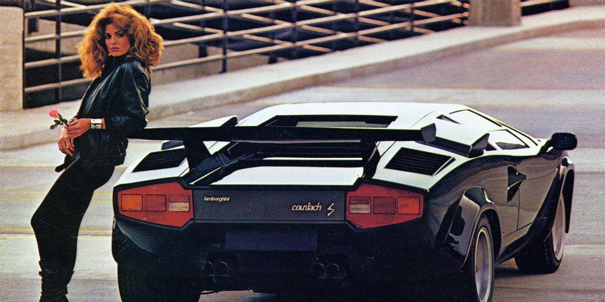 1983 Lamborghini Countach 5000s Road Test 8211 Review 8211 Car