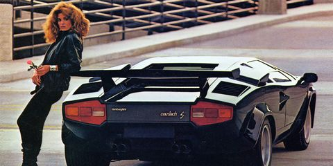 1983 Lamborghini Countach 5000s Road Test 8211 Review 8211 Car