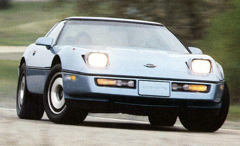 1984 chevrolet c4 corvette