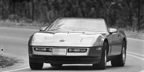 1986 Chevrolet Corvette Convertible Road Test –