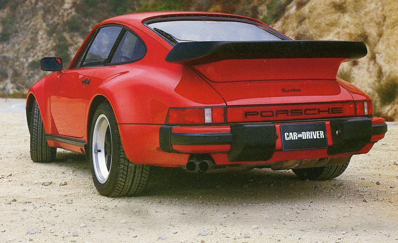 Tested 1986 Porsche 911 Turbo