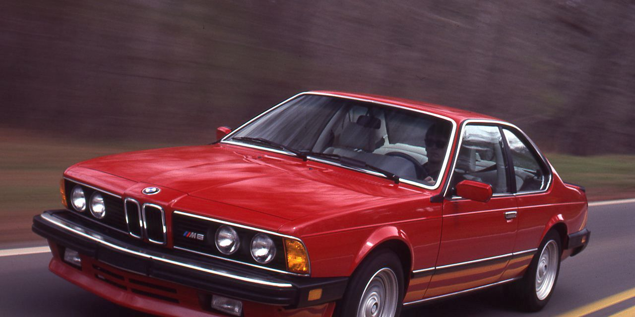 1987 Bmw M6 Road Test 8211 Review 8211 Car And Driver