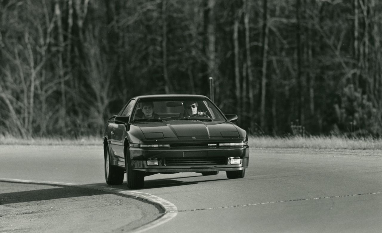 93a978c5e11f 1987 Toyota Supra Turbo Road Test   8211   160 Review   8211  Car and Driver