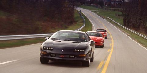 1993 Ford Mustang Cobra Vs 1993 Pontiac Firebird Formula 1993