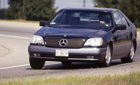 1993 mercedes 600sec