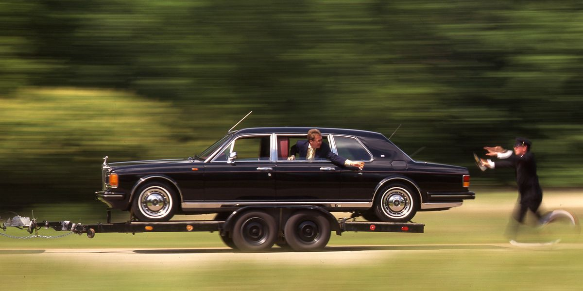 Lexus Suv Lease >> 1993 Rolls-Royce Silver Spur II Touring Limousine Archived ...