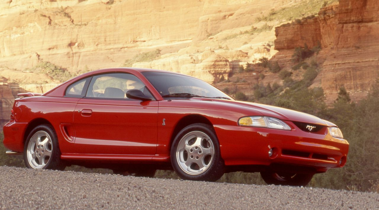 1994 ford mustang svt cobra \u0026 8211; review \u0026 8211; car and driver 1975 Ford Mustang image