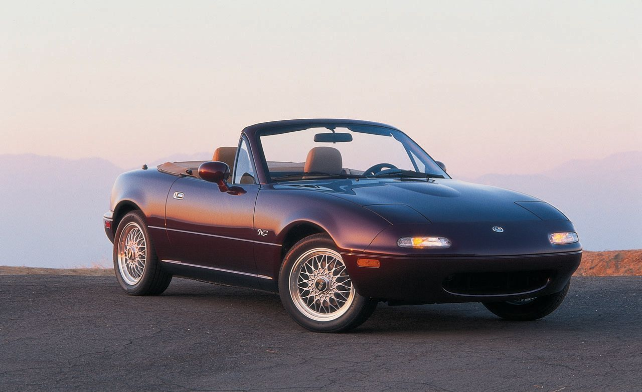 Mazda MX-5 Miata Sports Car History from 1989 to Today