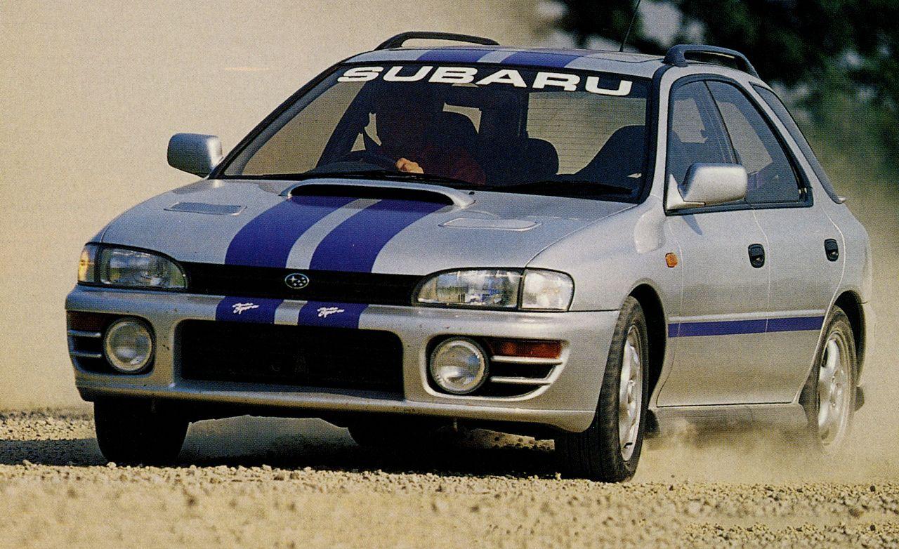 Tested 1994 Subaru Impreza Wrx
