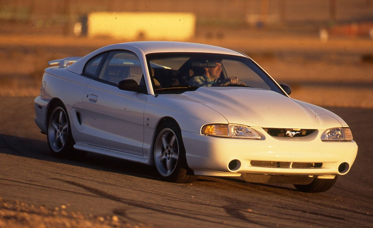1995 ford mustang svt cobra r review car and driver