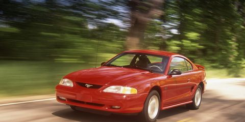 1996 Ford Mustang GT Archived Instrumented Test –