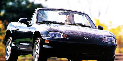 1999 Mazda Mx 5 Miata Road Test 8211 Review Car