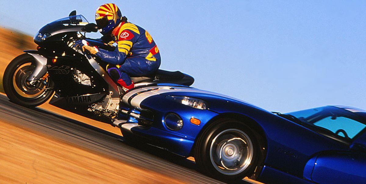 1996 Dodge Viper Gts Vs Yamaha Yzf1000r