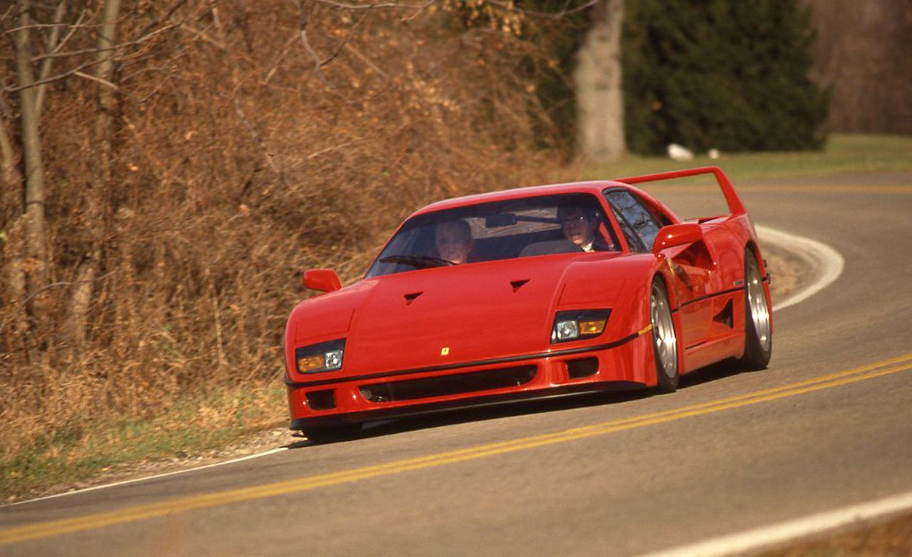 Ferrari F40 Archived Instrumented Test 8211 Review 8211 Car