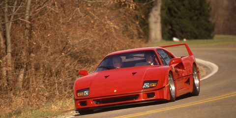 Ferrari F40 Archived Instrumented Test Review Car And