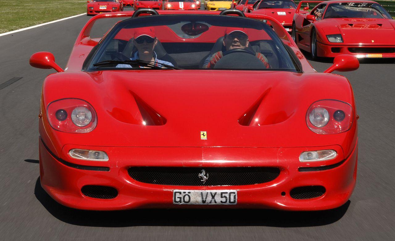 Ferrari F50 Road Test