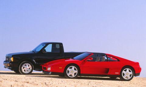 Land vehicle, Vehicle, Car, Ferrari 328, Sports car, Coupé, Supercar, Ferrari mondial, Ferrari 308 gtb/gts, Automotive design,