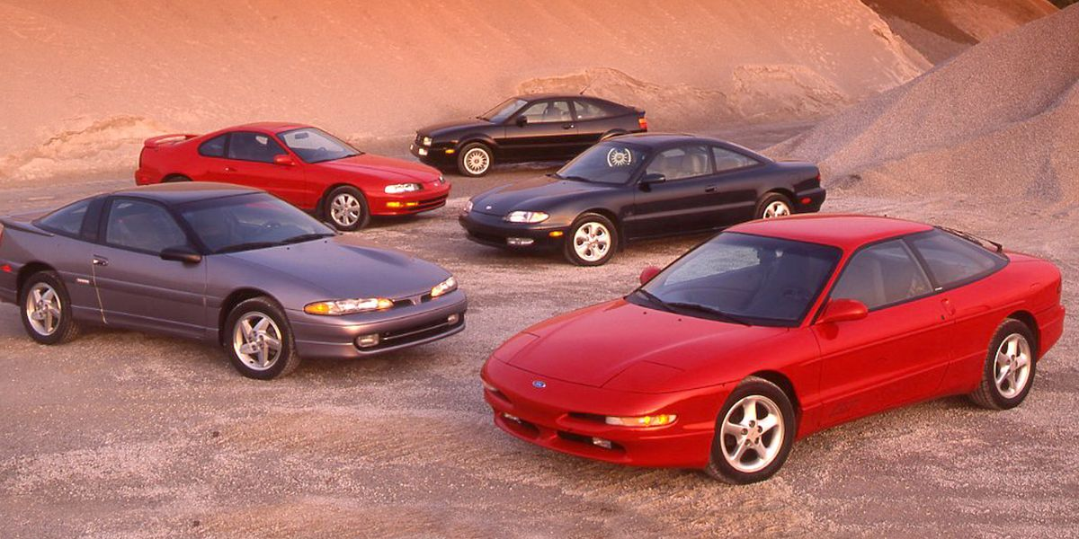 from the archive 1992 hot coupe comparo from the archive 1992 hot coupe comparo