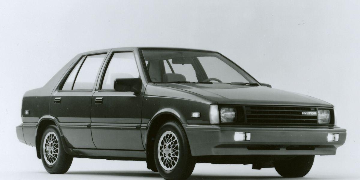 1986 Hyundai Excel GL