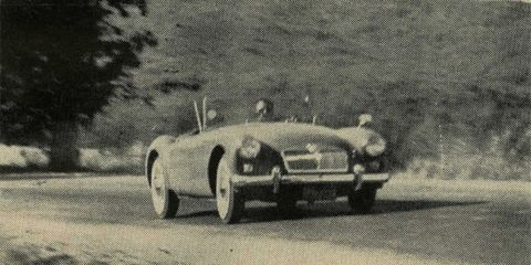 Mg Mga Archived Test 8211 Review 8211 Car And Driver