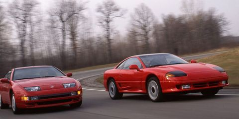 Nissan 300zx Turbo Vs Dodge Stealth Rt Turbo 8211 Archived