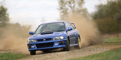 Subaru Impreza 22B STi Archived Test – Review – Car and Driver