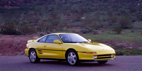 Toyota MR2 Turbo Archived Test –