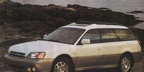 Subaru Legacy wagon UTE conversion Subaru Subaru legacy