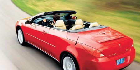 2007 pontiac g6 convertible trunk wont open