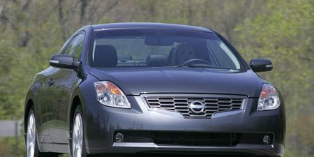 2008 Nissan Altima 3 5se Coupe Short Take Road Test