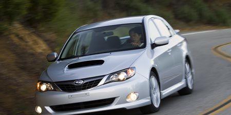 Tested 2008 Subaru Impreza Wrx