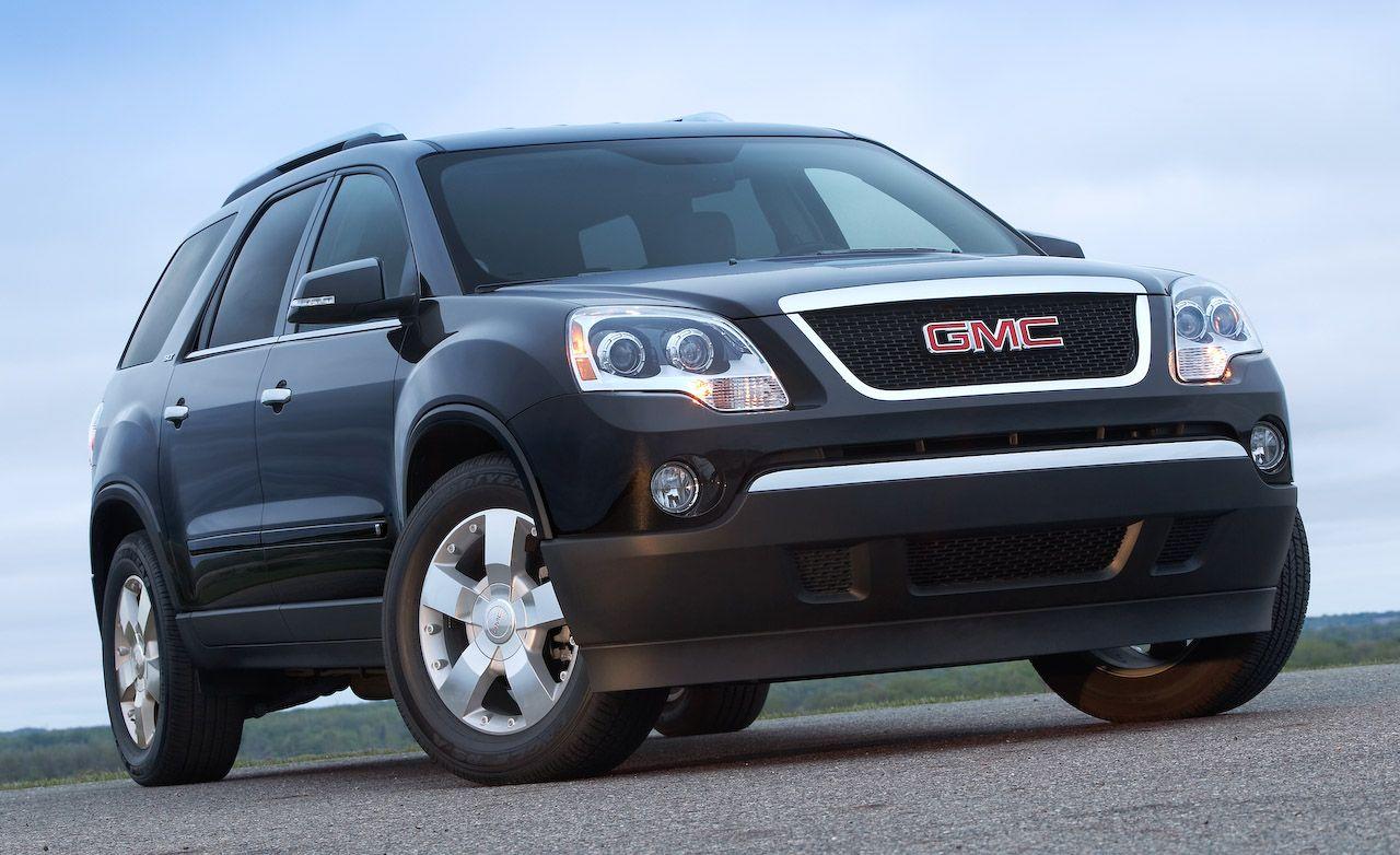 2010 gmc acadia car and driver