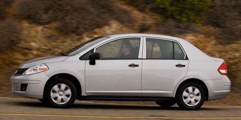 2009 Nissan Versa 1 6 Sedan