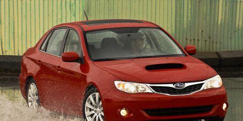 2009 Subaru Impreza 2.5 I >> 2009 Subaru Impreza 2 5gt