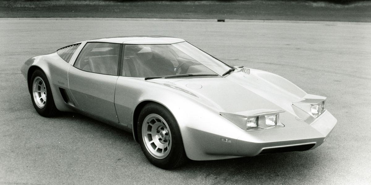 1973 Chevrolet Corvette 4-Rotor Experimental Car ...