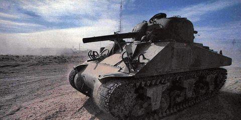 Tank, Combat vehicle, Military vehicle, Self-propelled artillery, Gun turret, Machine, Army, Meteorological phenomenon, Military, Military organization,
