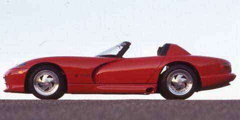 Land vehicle, Vehicle, Car, Sports car, Red, Race car, Dodge Viper, Automotive design, Coupé, Automotive wheel system,