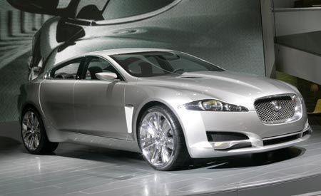 jaguar cxf concept