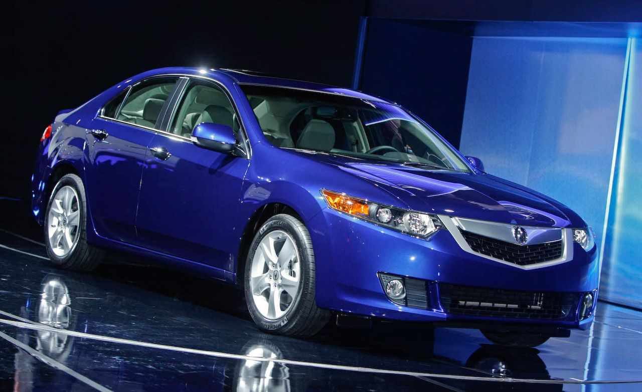 2009 Acura Tsx European Honda Accord