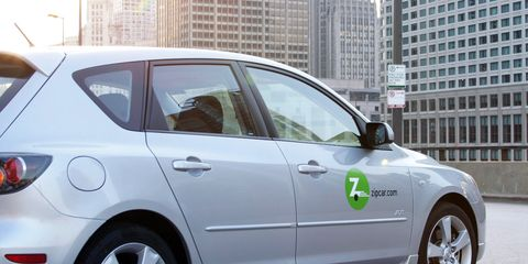 Zipcar Rent Cars By The Hour