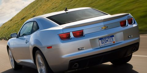 2010 Chevrolet Camaro 1ls >> 2010 Chevrolet Camaro V6 And V8 Performance Test Results