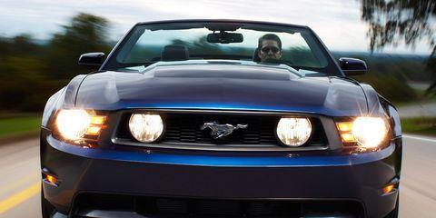 Automotive design, Blue, Daytime, Vehicle, Automotive exterior, Headlamp, Hood, Automotive lighting, Grille, Car,