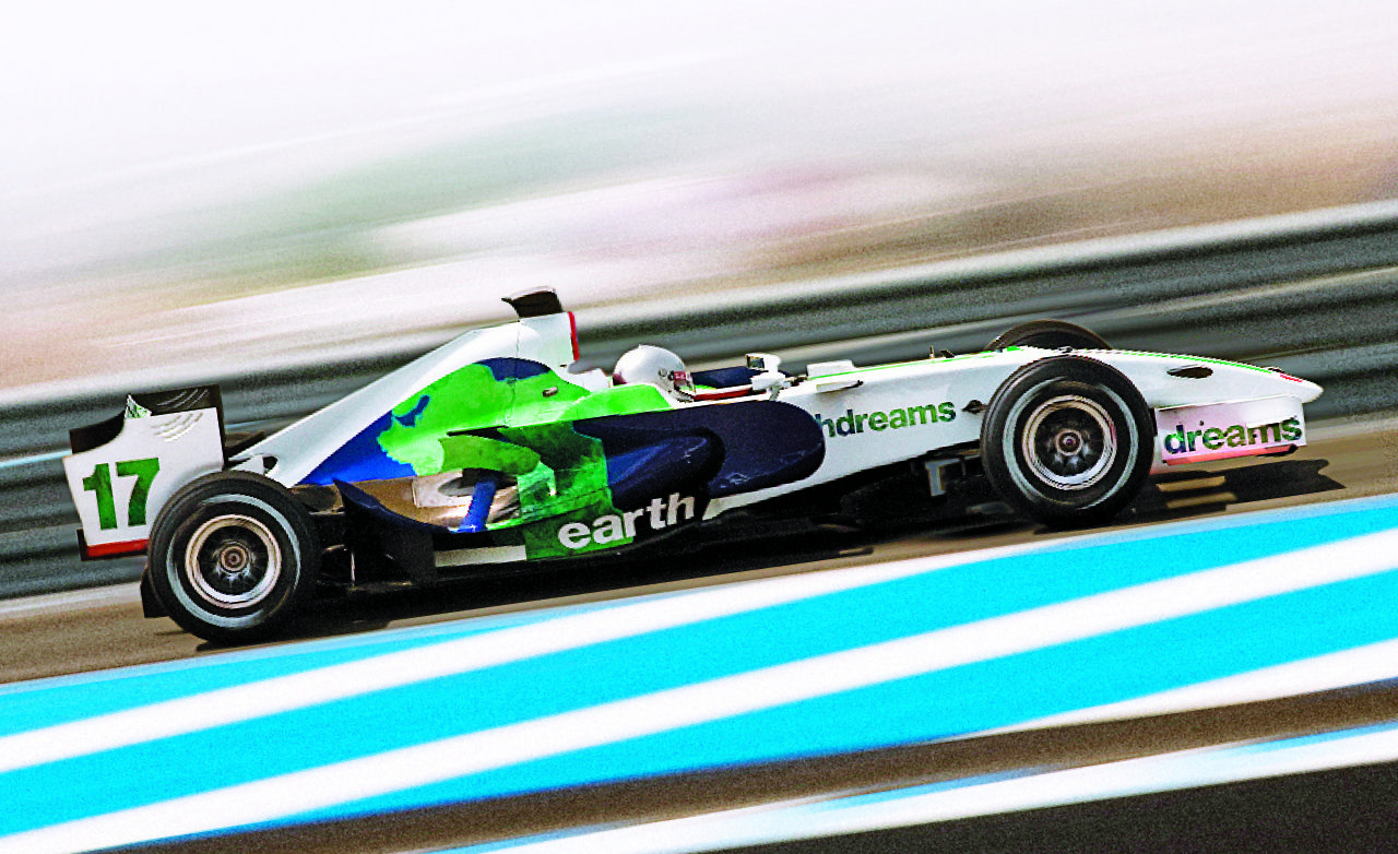 We Drive A Honda F1 Car