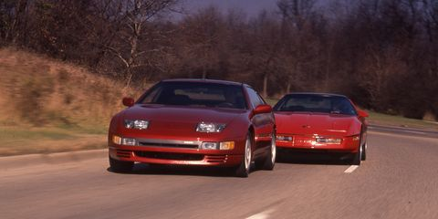 1991 Chevrolet Corvette Z51 Fx3 Vs Nissan 300zx 8211 Archived