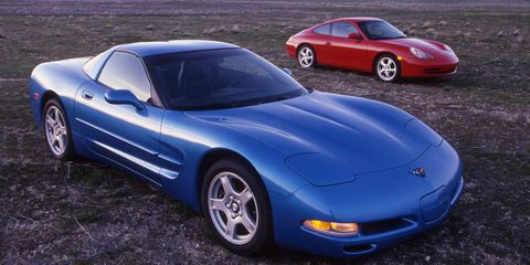 1999 Porsche 911 Carrera Vs 1999 Chevrolet Corvette 8211