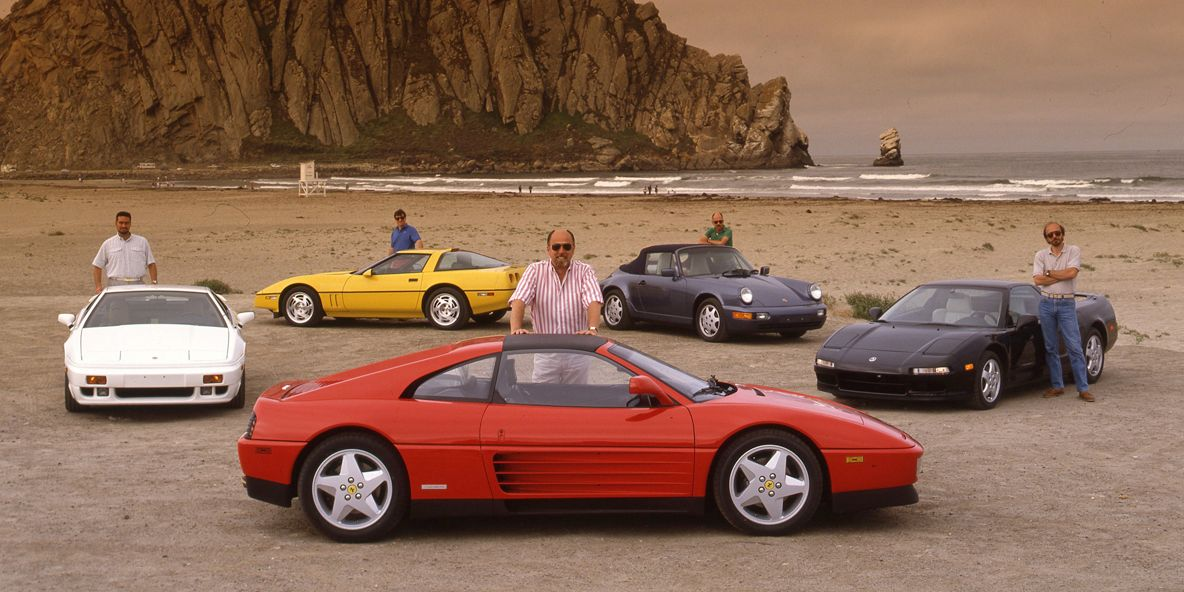 Tested Five Way 1990 Sports Car Shootout