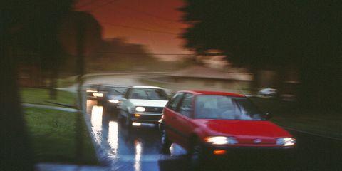 Mode of transport, Vehicle, Car, Automotive lighting, Automotive parking light, Automotive mirror, Automotive window part, Family car, City car, Vehicle door,